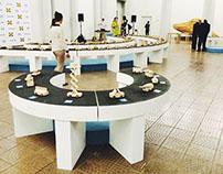 Конструкции для выставки TobeUs в Политехе