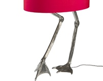 Birds Legs Lamps: a commercial commission...