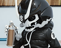 TEQ63 Ravager toy sculpt