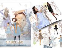 Fashion Illustrations for www.madelane.se