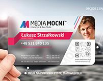 MediaMocni wizytówki