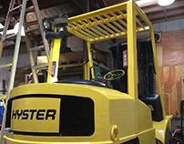 Forklift restoration