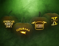 Fox Home Entertainment Halloween Pumpkins