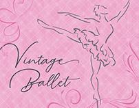 Vintage Ballet artwork & printables