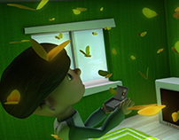 '3D Animation Design' 蘇蔡珠蜜 Grandma