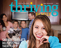 Thriving Family magazine Aug/Sept 2015
