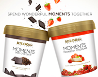 Moments by Igloo, Magazine Ad