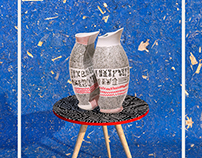 IGYGRAPHIE Double Vase 3D Set design