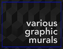 Sports, Businesses, University Graphic Murals