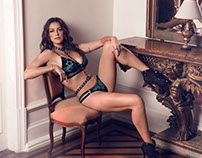 Campaign Dechelles Lingerie | Luana Piovani