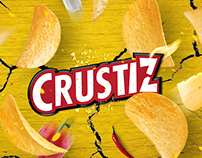 CRUSTIZ - CRUSTIZ POP / Packaging / Branding