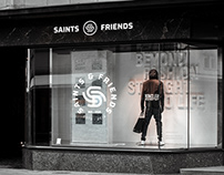 Saints and Friends - Brand identity design