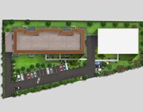 Masterplan rendering 2D