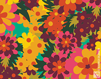Flowers for Lola [Surface Pattern Design Collection]