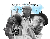 Yalnız Dergi Eylül sayısı Pablo Neruda kolaj çalışması