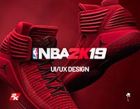 NBA 2K19 - UI/UX Design
