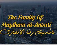 Ahmed Al-Ansary & Fatima Al-Haidery Wedding Invitation