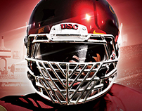 2015 USC Football Spring Game Poster