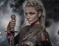 Medieval Queen / Digital art