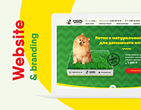 Website & branding for pet-shop