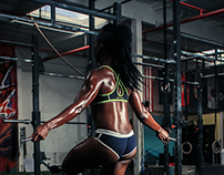 Denetra BlackShear, Fitness Model and Trainer.