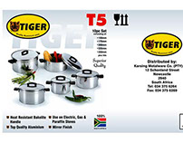 Tiger Cookware Package Design