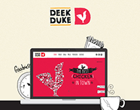 Deek Duke Restaurant Website Proposal