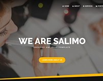 Salimo - Creative One Page Template