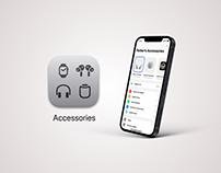 Apple Accessories App Concept