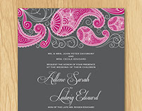 Wedding Invite & Rsvp
