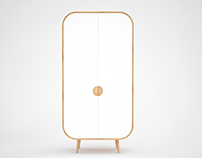 ROUNDED CABINET