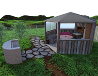 Gazebo 3D visual