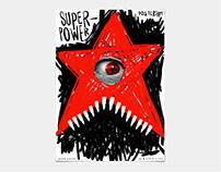 Poster Design on PosterJam word's ''SuperPower''