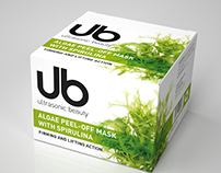 Ultrasonic Beauty - algae peel of mask visualisation