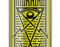 Morning star - hand crafted absinthe label