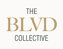 The BLVD Collective Cowork Space Branding