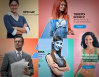Assisst app website concept