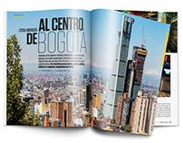 Reportaje gráfico, Centro de Bogotá - Revista Cromos