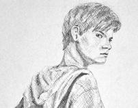 Newt - Portrait Sketch