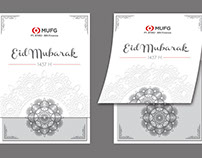 Eid Card - PT. BTMU-BRI Finance