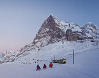 Jungfraubahnen Winter