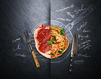 Upgrade Gastronômico - Dia dos Pais - Menu Gastronomia