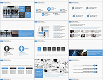 28+ company charts report PowerPoint template