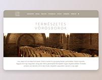 Dániel Pince website + webshopbuild