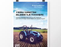 Landini Globe Ad