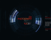 GH PHOTOGRAPHY AWARDS - MOTION DESIGN