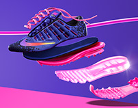 NIKE Airmax Exploded View | Retouch & CGI