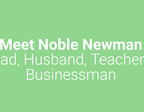 Meet Noble Newman | YouTube Video and Bio
