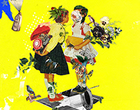 Collage Artwork 118-120