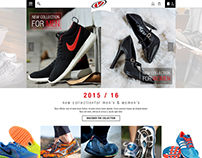 Online Shoe Store Template